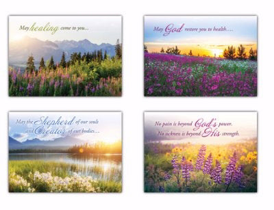 Card-Boxed-A New Morning Assorted Get Well (KJV) (Box Of 12)