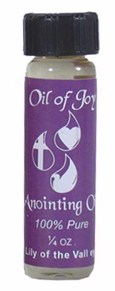 Anointing Oil-Lily Of The Valley-1-4 Oz (Pack Of 6)