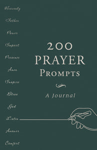 200 Prayer Prompts: A Journal