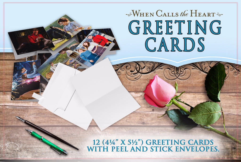Greeting Cards-When Calls The Heart (Set Of 12)