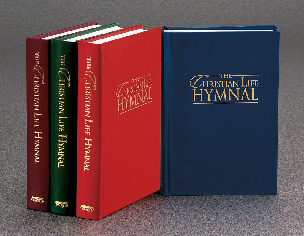 Hymnal-Christian Life Hymnal-Blue Hardcover