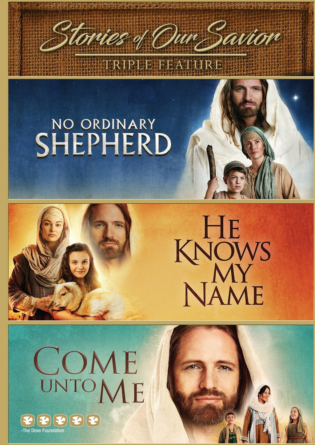 DVD-Stories of Our Savior - Triple Feature
