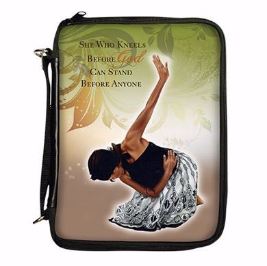 Bible Cover-She Who Kneels-Medium