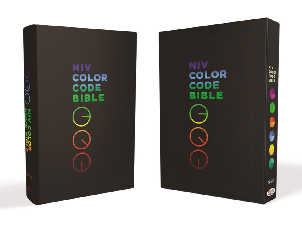 NIV Color Code Bible-Leathersoft