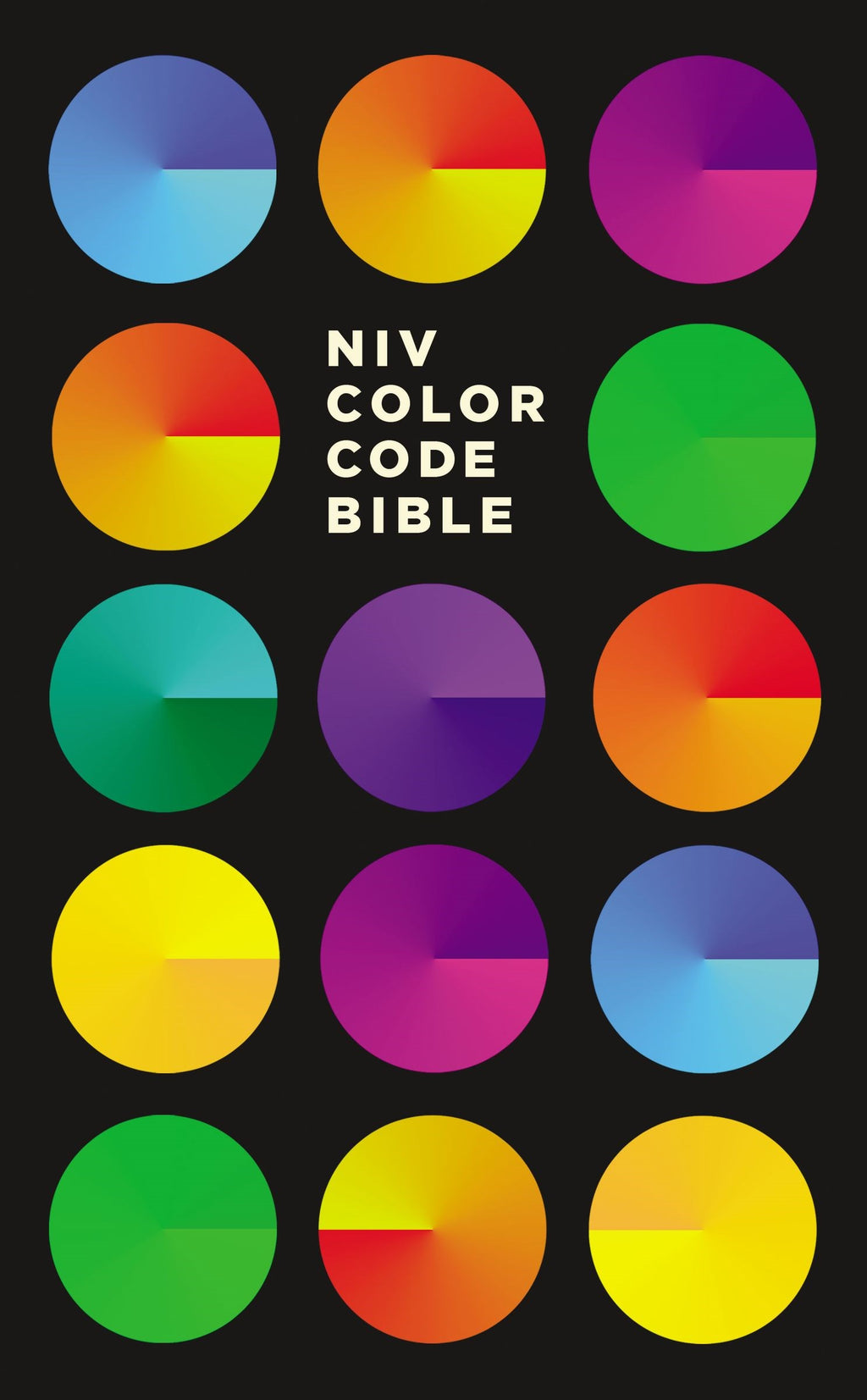 NIV Color Code Bible-Hardcover