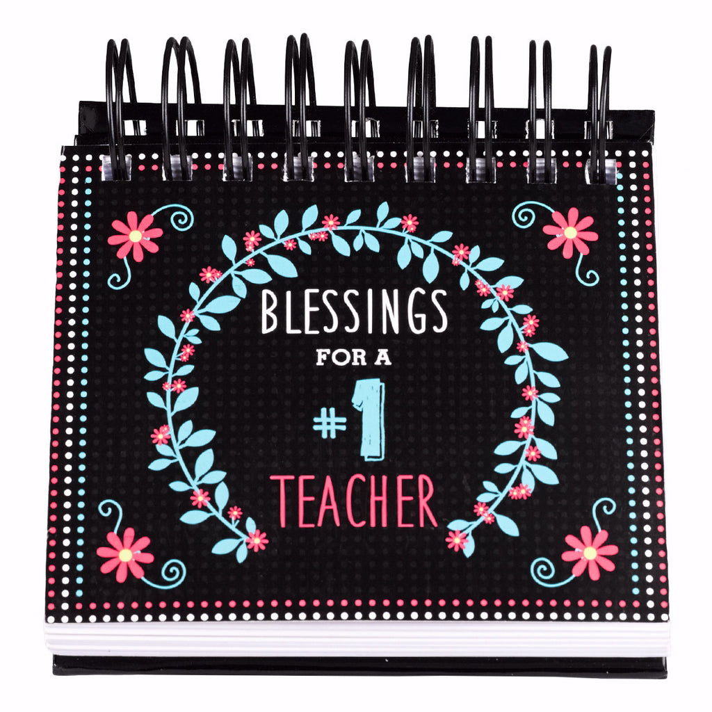 Calendar-Blessings For A #1 Teacher (Perpetual)