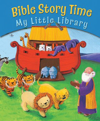 Bible Story Time: My Little Library (10 Books)