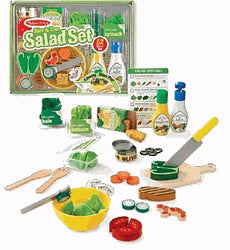 Pretend Play-Slice & Toss Salad Set (52 Pieces) (Ages 3+)