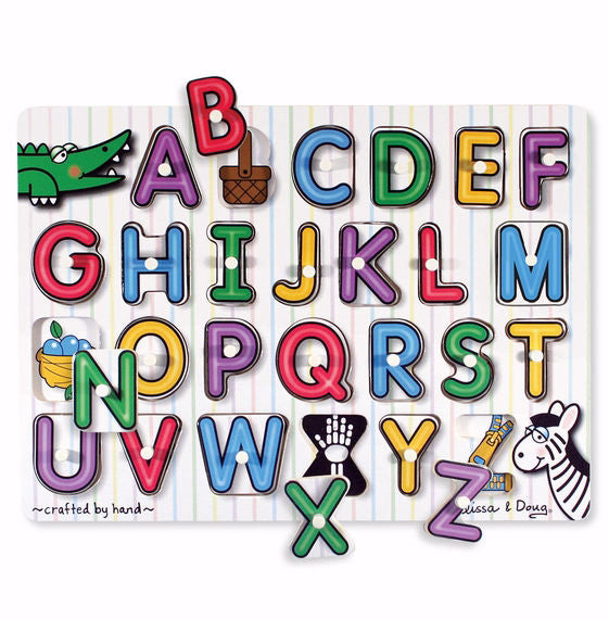 Puzzle-See Inside Alphabet (26 Pieces) (Ages 3+)
