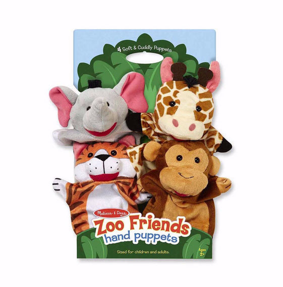 Hand Puppet Set-Zoo Friends (Ages 2+)