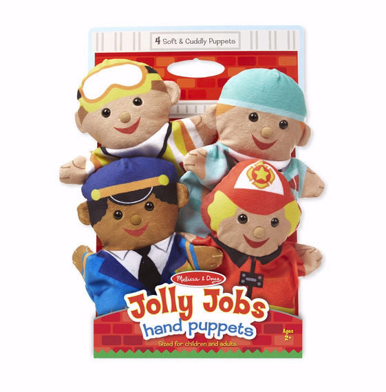 Hand Puppet Set-Jolly Helpers (Ages 2+)