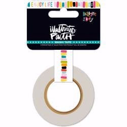 "Washi Tape-Delight In His Day-Enjoy Life (30' x .625"" Roll)"