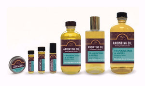 Anointing Oil-Latter Rain-1-2 Oz