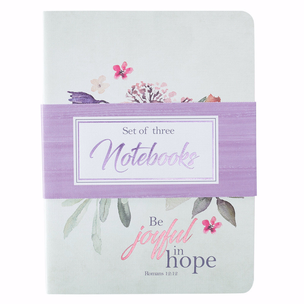 "Notebook Set-Rejoice-Large (6"" x 8 1-2"") (Set Of 3)"