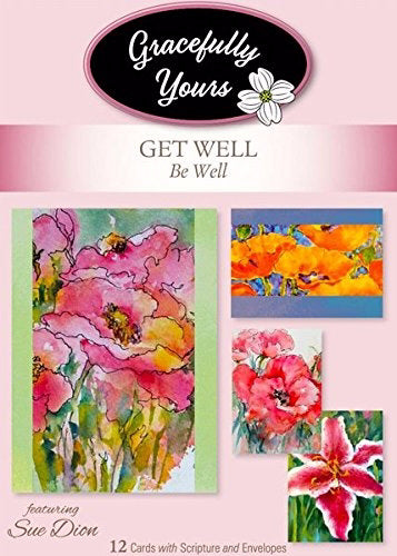 Card-Boxed-Get Well-Be Well #156 (Box Of 12)