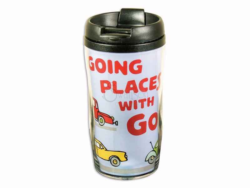 Tumbler-Going Places With God-Insulated (9 Oz)