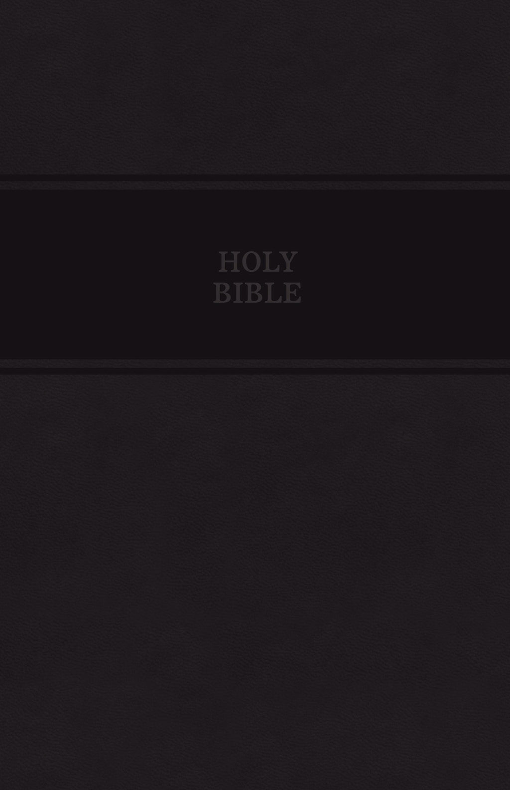 KJV Personal Size Giant Print Reference Bible (Comfort Print)-Black Leathersoft Indexed