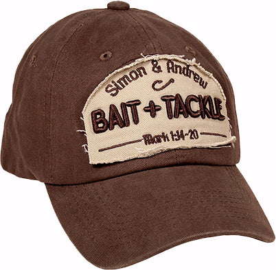 Cap-Bait & Tackle-Coffee-Khaki