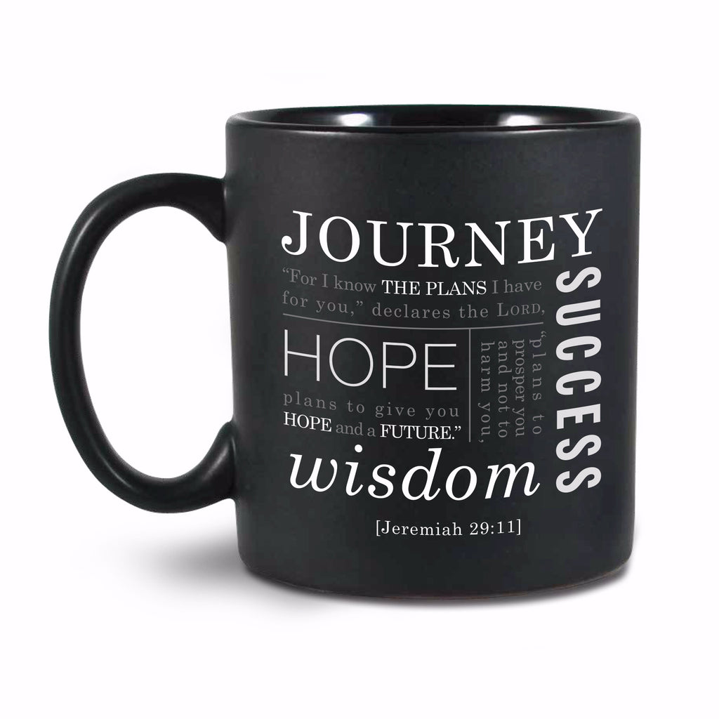 Mug-Simple Faith Series II: Journey-Black (#18842)