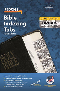 Bible Tab-Camo Series-Urban-Old & New Testament