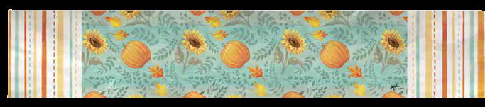 "Table Runner-Harvest Gathering (13"" x 72"")"