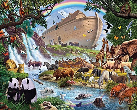 Jigsaw Puzzle-Noah's Ark (1000 Pieces)