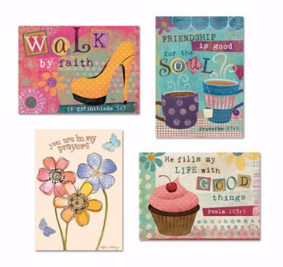 Card-Boxed-Shared Blessings-Encouragement 1-Graphics (Box Of 12)