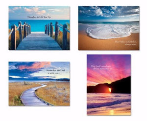 Card-Boxed-Shared Blessings-Encouragement 2-Coastal (Box Of 12)