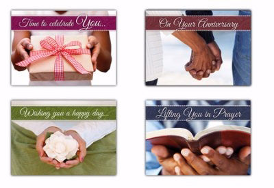 Card-Boxed-In God's Hands All Occasion (KJV) (Box Of 12)
