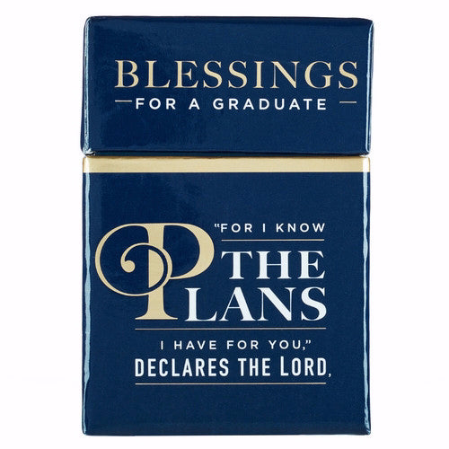 Box Of Blessings-The Plans (For A Graduate)