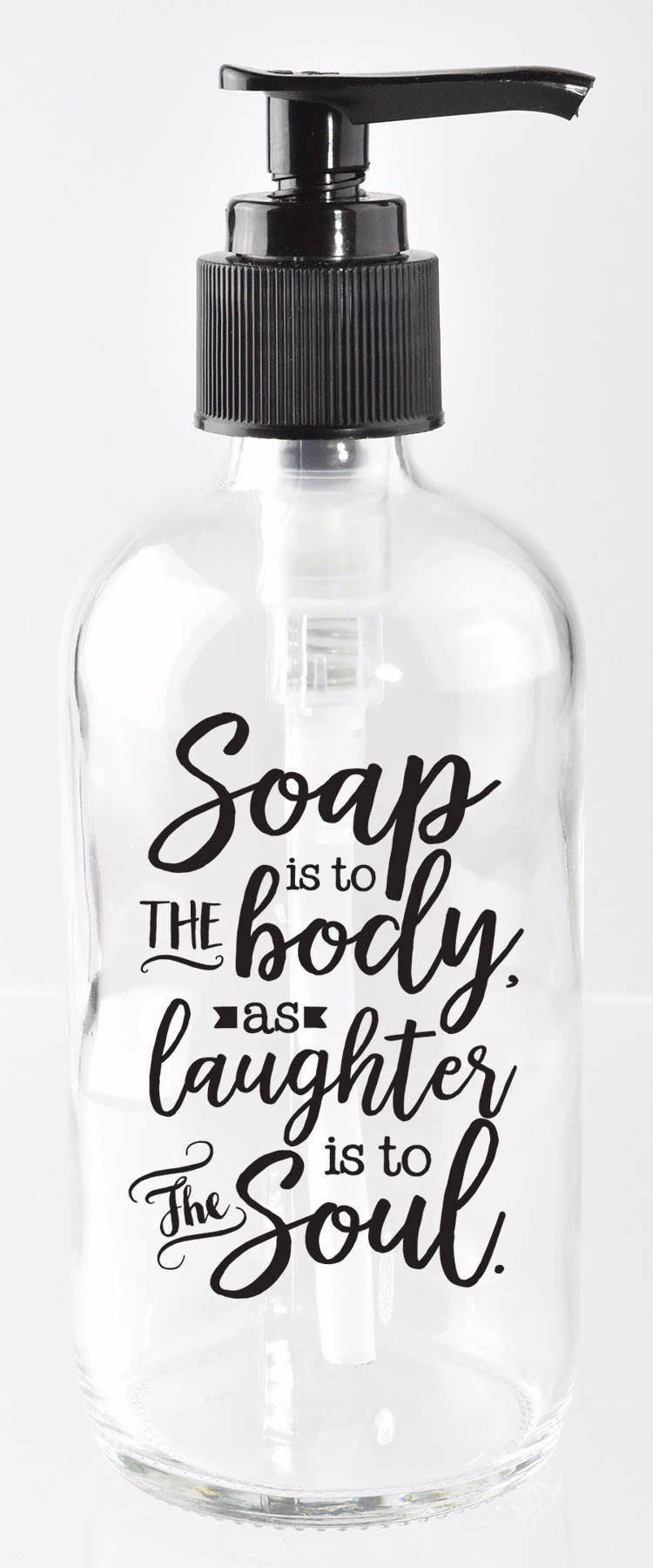 Soap Dispenser-Soap Is To The Body