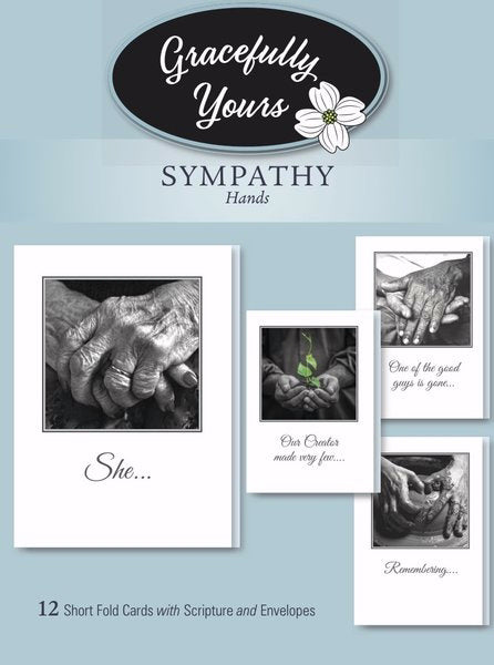 Card-Boxed-Sympathy-Hands #146 (Box Of 12)