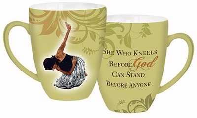 Mug-She Who Kneels-Green