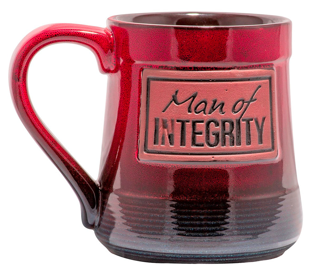 Mug-Pottery-Man Of Integrity (20 Oz)