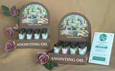 Anointing Oil-4 Assorted Oils-Exodus-Trinity-Light Of Christ-Joy-1-4oz (Pack of 12 w-4 Free)