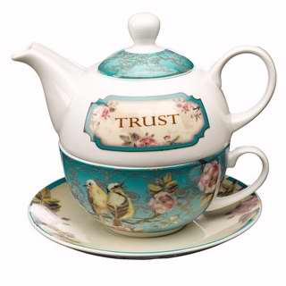Tea Set-Tea For One-Trust w-Gift Box