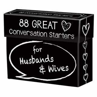 Conversation Starters-88 Great Conversation Starters For Husbands & Wives