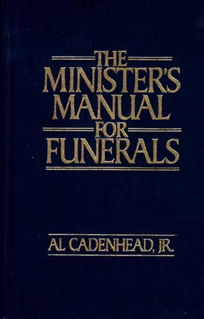Minister's Manual For Funerals