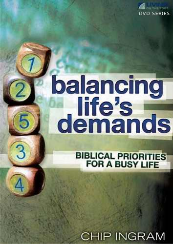 DVD-Balancing Lifes Demands Series w-Study Guide