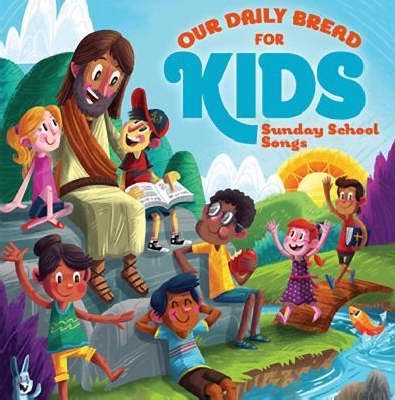 Audio CD-Our Daily Bread For Kids Sunday School Songs