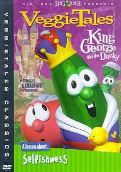 DVD-Veggie Tales: King George & The Ducky