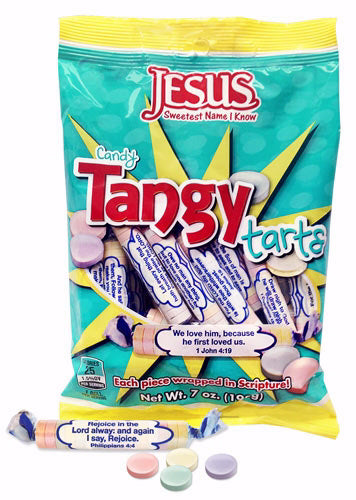 Candy-Scripture Tangy Tarts (7 Oz Bag)