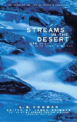 Streams In The Desert (Updated)-Softcover