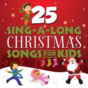 Audio CD-25 Sing-A-Long Christmas Songs For Kids