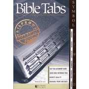Bible Tab-Symbol Old & New Testament-Silver-Gray