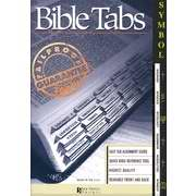 Bible Tab-Symbol Old & New Testament-Gold-Gray