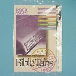 Bible Tab-Rainbow Old & New Testament-Color
