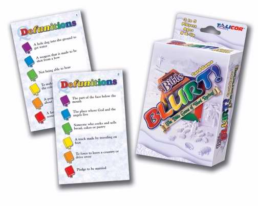 Game-Bible Blurt Card Game (3-12 Players)
