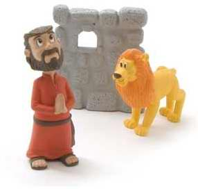 Toy-Figurine-Tales Of Glory: Daniel & The Lions' Den