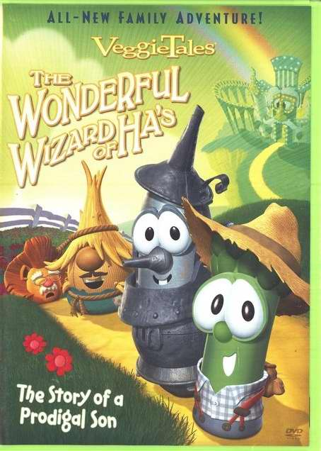 DVD-Veggie Tales: Wonderful Wizard Of Ha's